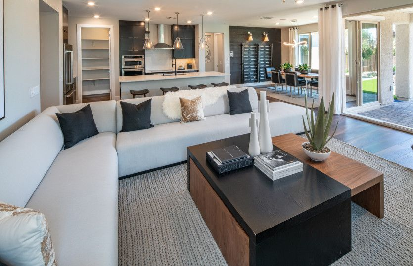 Living Area featured in the Preserve By Del Webb in Las Vegas, NV