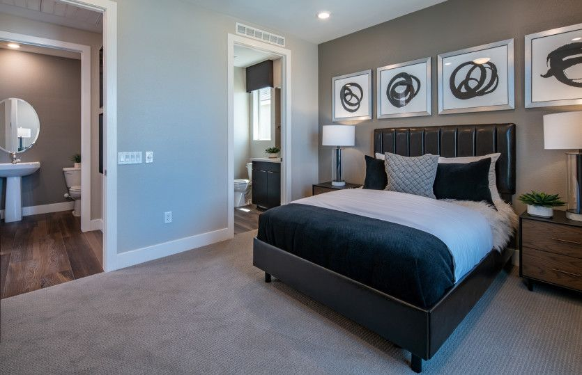 Bedroom featured in the Preserve By Del Webb in Las Vegas, NV