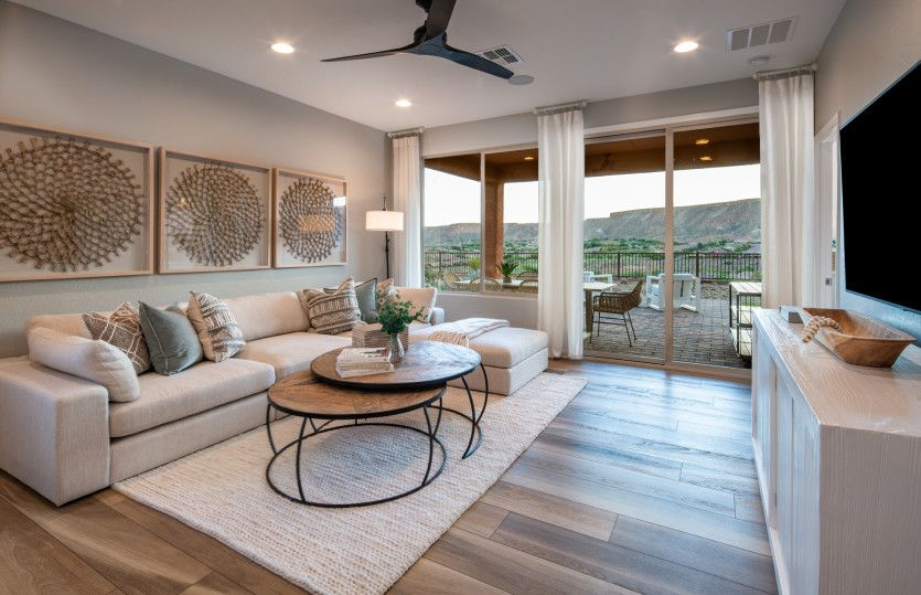 Living Area featured in the Canyon By Del Webb in Las Vegas, NV