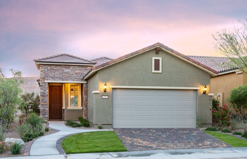 Exterior featured in the Pine Spring By Del Webb in Las Vegas, NV