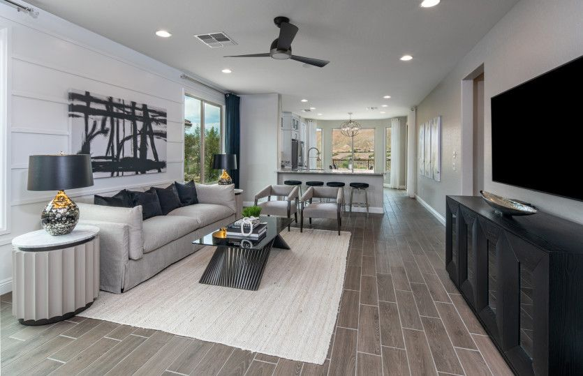Living Area featured in the Pine Spring By Del Webb in Las Vegas, NV