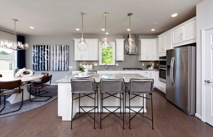 Kitchen featured in the Abbeyville V2 By Del Webb in Washington, VA
