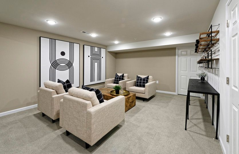Living Area featured in the Castle Rock V2 By Del Webb in Washington, VA