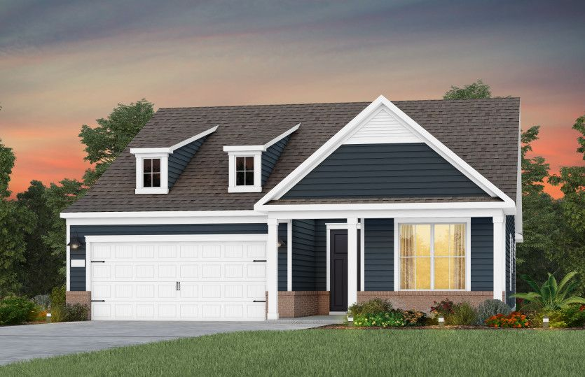 Exterior featured in the Prosperity By Del Webb in Raleigh-Durham-Chapel Hill, NC