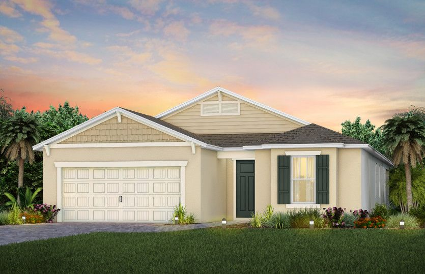 Exterior featured in the Mystique By Del Webb in Orlando, FL