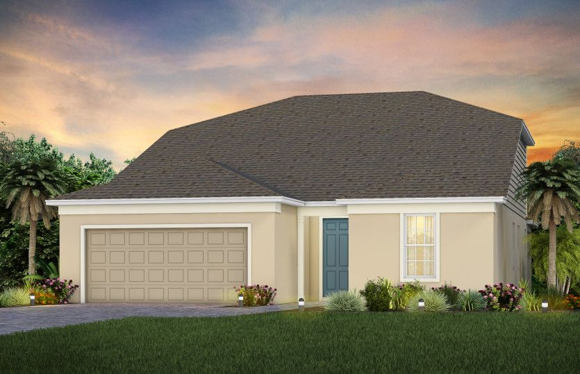 Exterior featured in the Mystique Grand By Del Webb in Orlando, FL