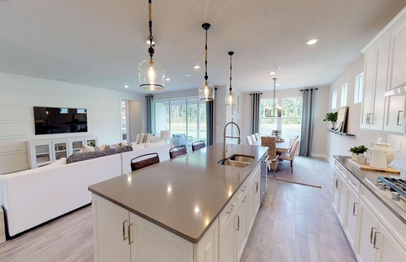 Kitchen featured in the Stellar By Del Webb in Orlando, FL