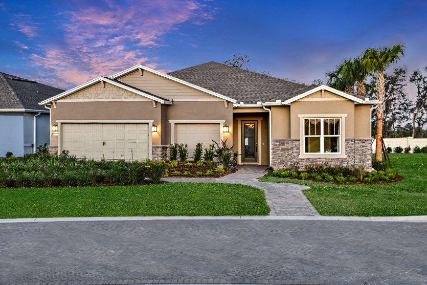 Exterior featured in the Renown By Del Webb in Orlando, FL