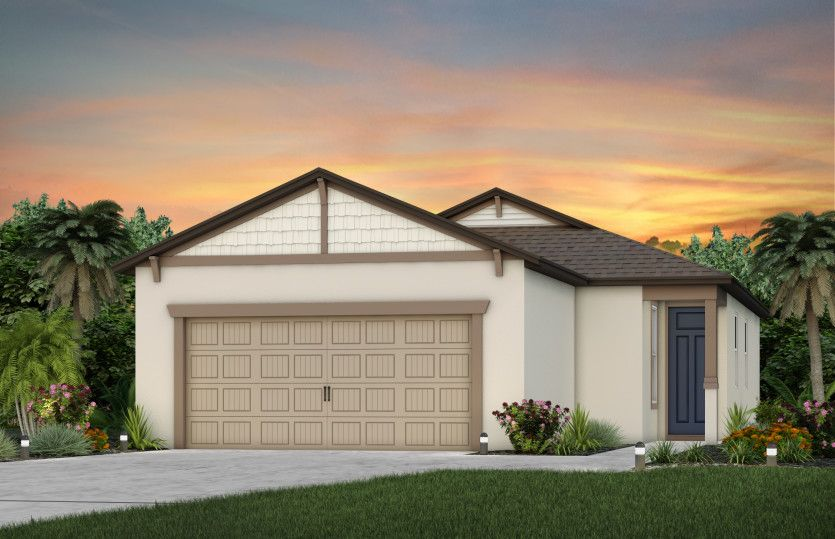 Exterior featured in the Blackwell By Del Webb in Ocala, FL
