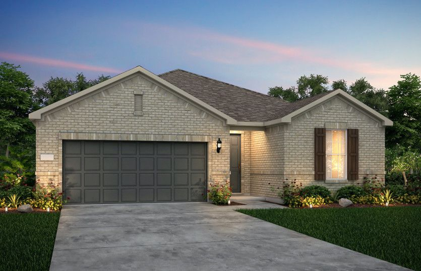 Exterior featured in the Palmary By Del Webb in Austin, TX