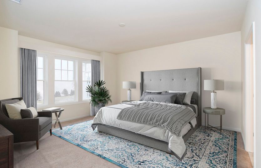 Bedroom featured in the Fenton By Del Webb in Worcester, MA