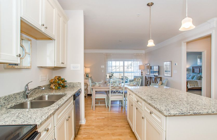 Kitchen featured in the Kirkwood By Del Webb in Worcester, MA
