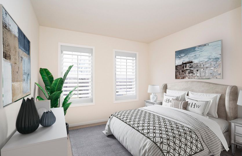 Bedroom featured in the Kirkwood By Del Webb in Worcester, MA