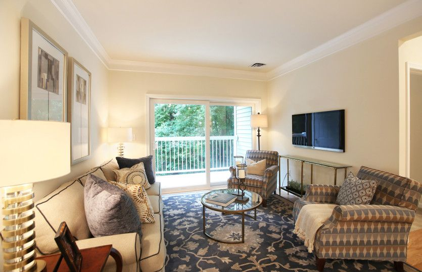 Living Area featured in the Chandler By Del Webb in Worcester, MA