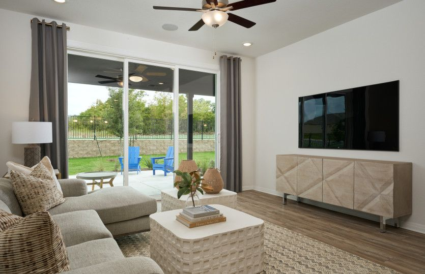 Living Area featured in the Contour By Del Webb in Austin, TX