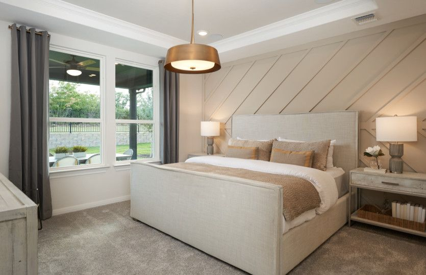 Bedroom featured in the Contour By Del Webb in Austin, TX