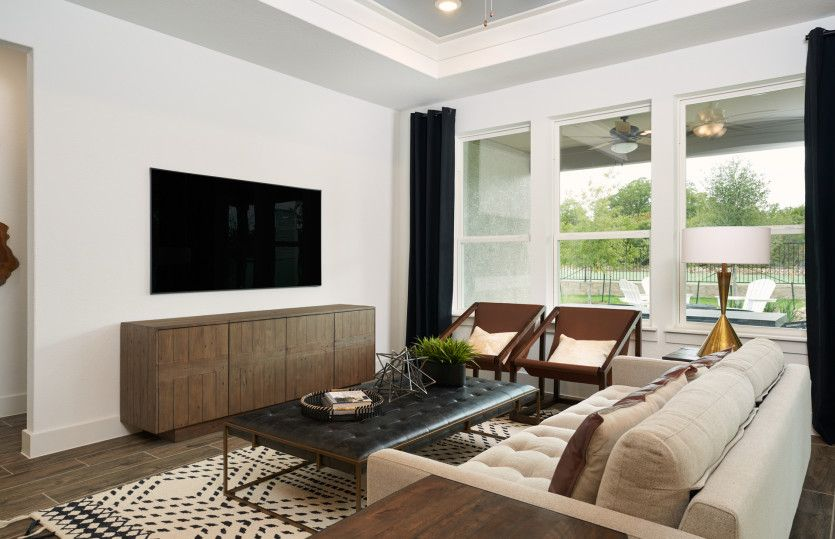 Living Area featured in the Palmary By Del Webb in Austin, TX