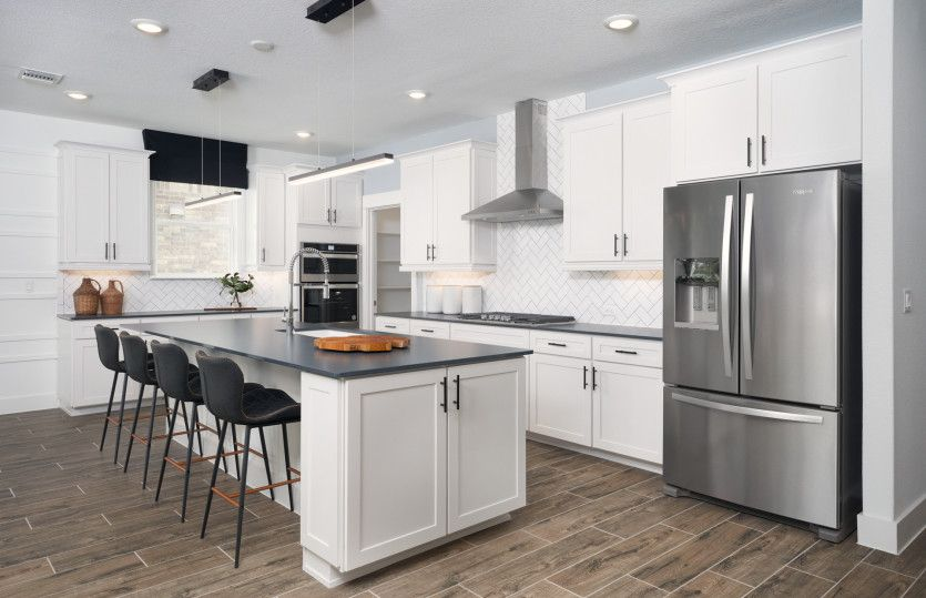 Kitchen featured in the Palmary By Del Webb in Austin, TX
