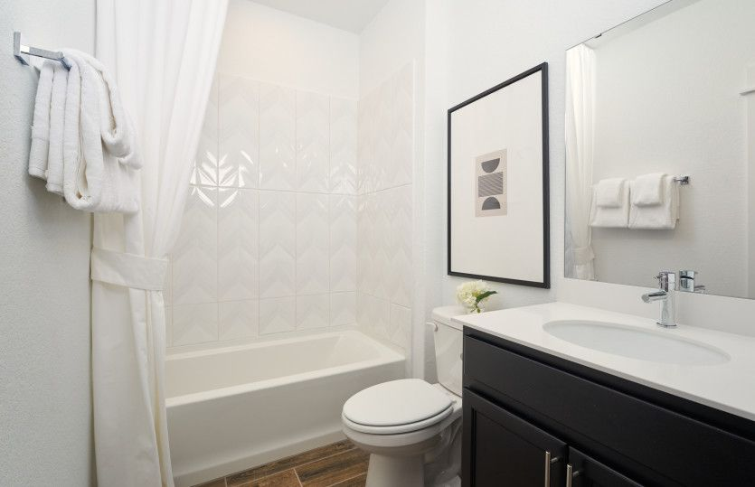 Bathroom featured in the Palmary By Del Webb in Austin, TX