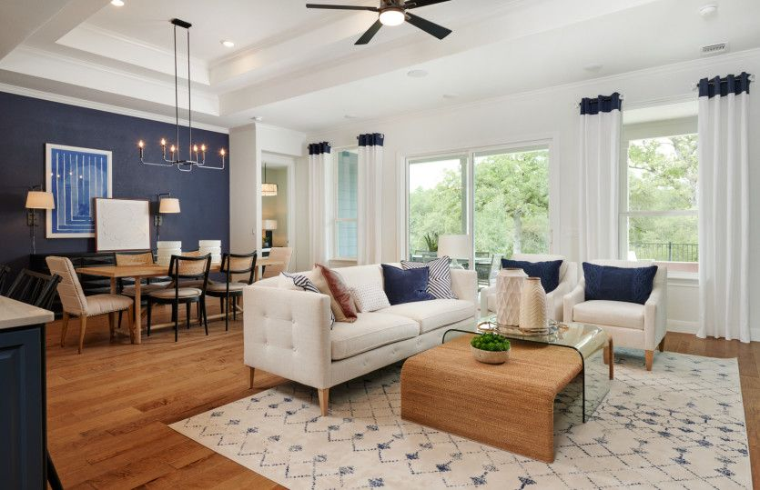 Living Area featured in the Stardom By Del Webb in Austin, TX