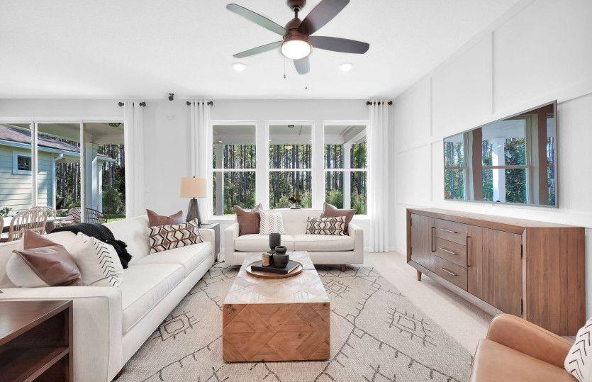 Living Area featured in the Prosperity By Del Webb in Jacksonville-St. Augustine, FL