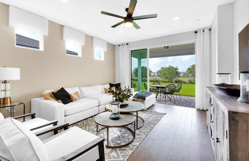 Living Area featured in the Hallmark By Del Webb in Jacksonville-St. Augustine, FL