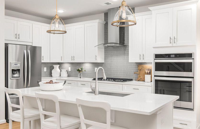 Kitchen featured in the Blue Rock By Del Webb in Washington, VA