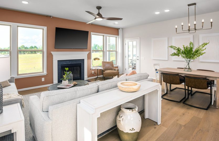 Living Area featured in the Blue Rock By Del Webb in Washington, VA