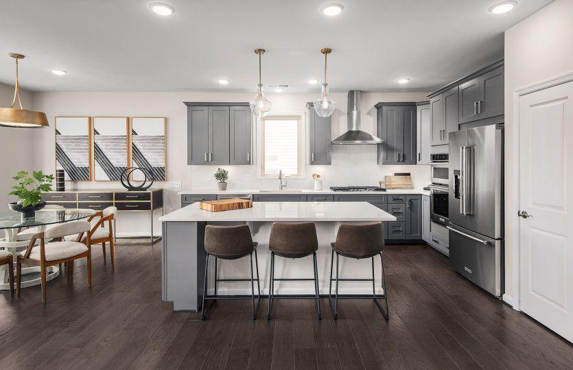 Kitchen featured in the Abbeyville By Del Webb in Washington, VA