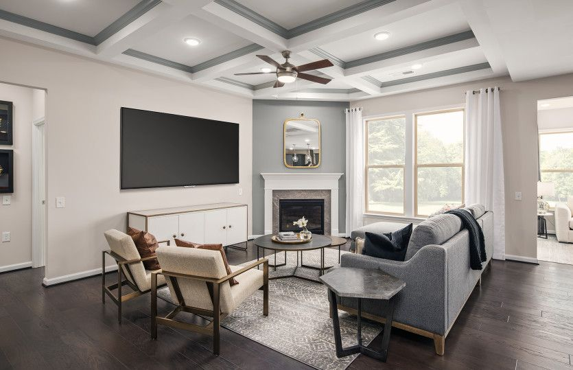Living Area featured in the Abbeyville By Del Webb in Washington, VA