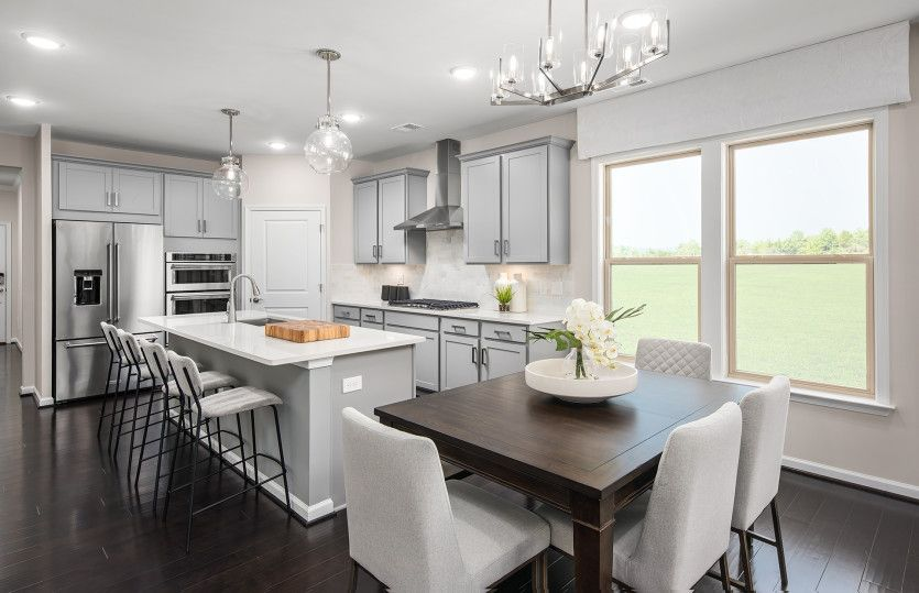 Kitchen featured in the Bluemont By Del Webb in Washington, VA