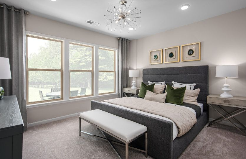 Bedroom featured in the Bluemont By Del Webb in Washington, VA