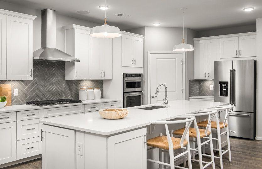 Kitchen featured in the Castle Rock By Del Webb in Washington, VA