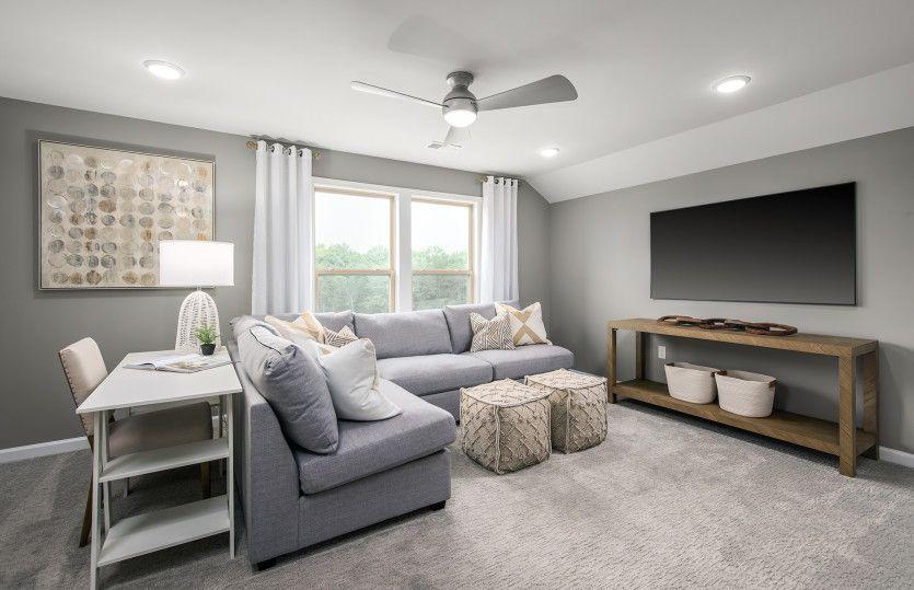 Living Area featured in the Castle Rock By Del Webb in Washington, VA