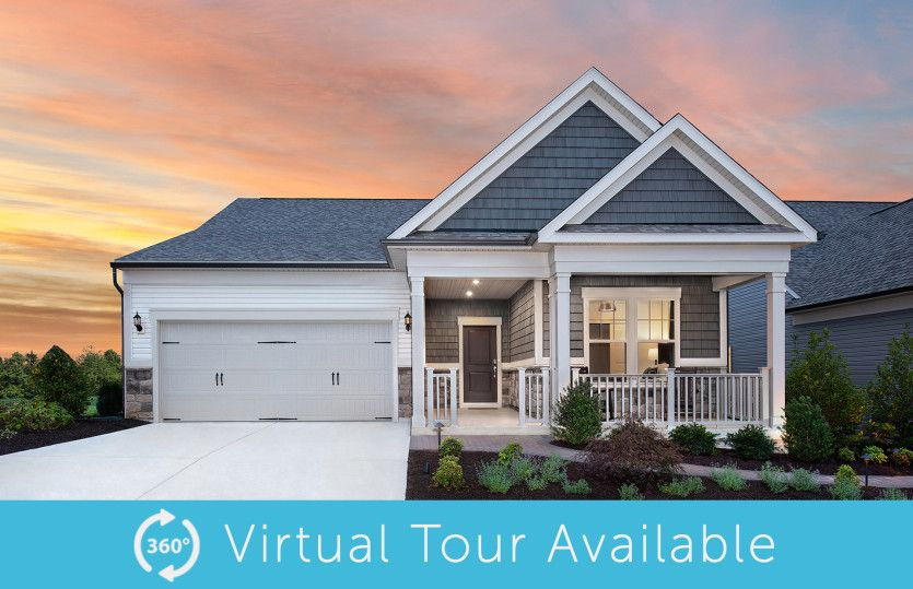 Exterior featured in the Abbeyville By Del Webb in Washington, VA