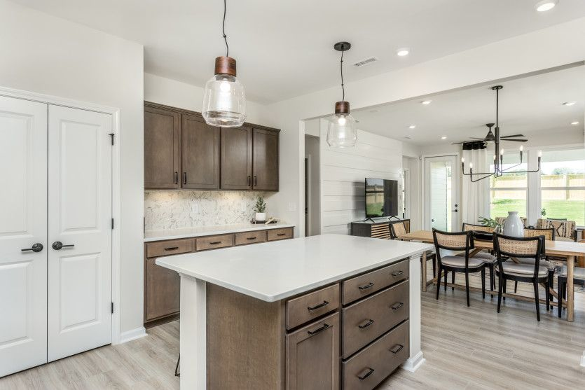 Kitchen featured in the Alpine By Del Webb in Raleigh-Durham-Chapel Hill, NC
