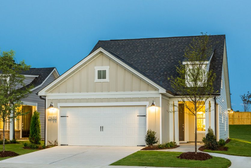 Exterior featured in the Contour By Del Webb in Raleigh-Durham-Chapel Hill, NC