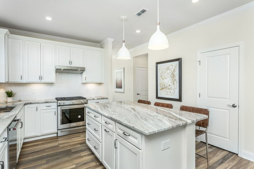 Kitchen featured in the Contour By Del Webb in Raleigh-Durham-Chapel Hill, NC