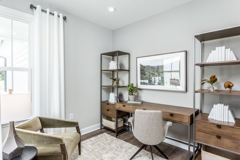 Living Area featured in the Compass By Del Webb in Raleigh-Durham-Chapel Hill, NC