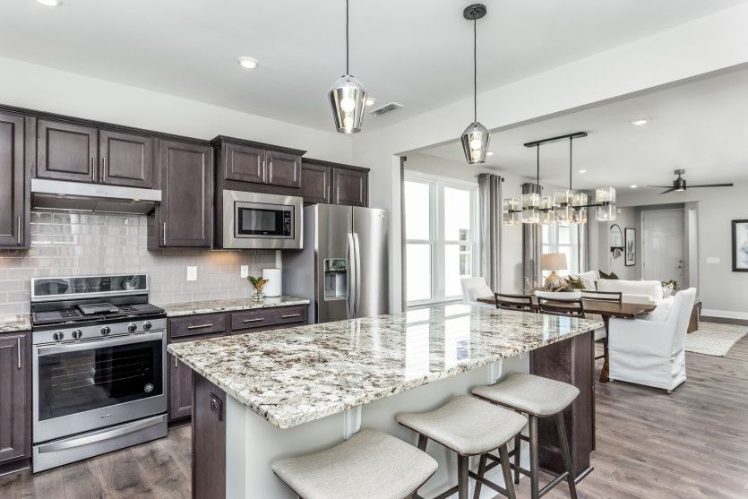 Kitchen featured in the Compass By Del Webb in Raleigh-Durham-Chapel Hill, NC