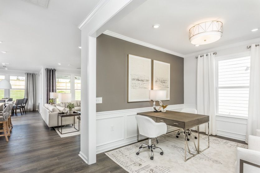 Living Area featured in the Mystique By Del Webb in Raleigh-Durham-Chapel Hill, NC