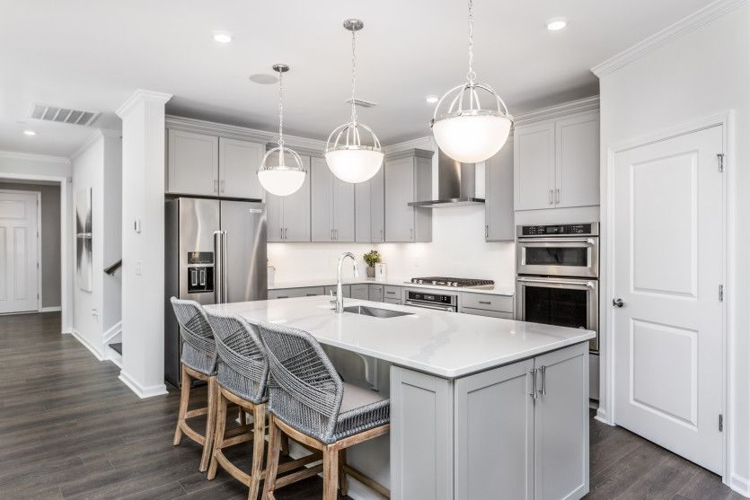 Kitchen featured in the Mystique By Del Webb in Raleigh-Durham-Chapel Hill, NC