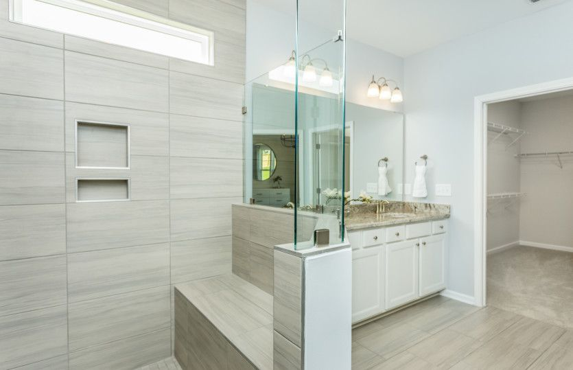 Bathroom featured in the Mainstay By Del Webb in Raleigh-Durham-Chapel Hill, NC