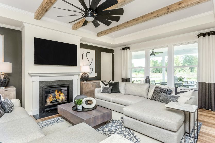 Living Area featured in the Stellar By Del Webb in Raleigh-Durham-Chapel Hill, NC