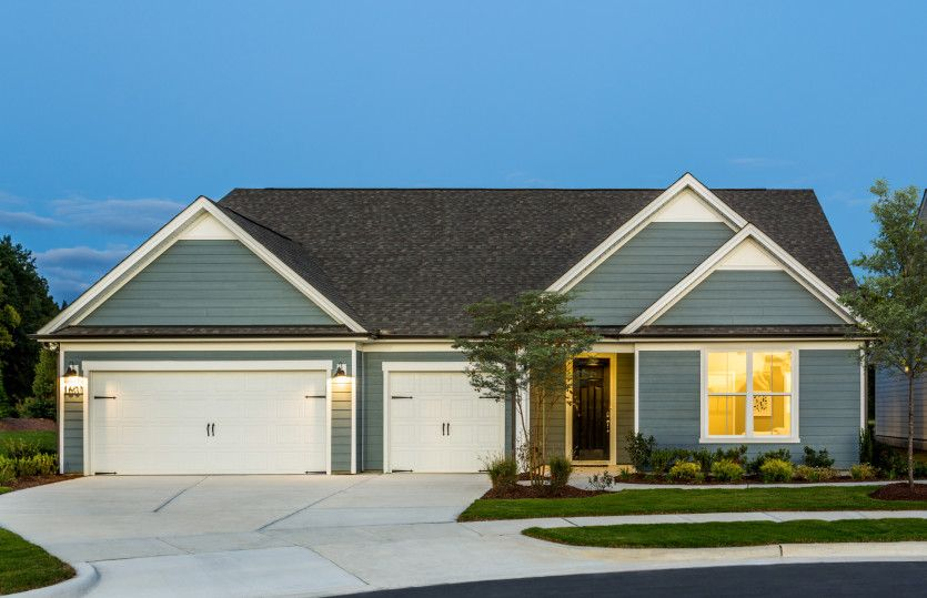 Exterior featured in the Renown By Del Webb in Raleigh-Durham-Chapel Hill, NC