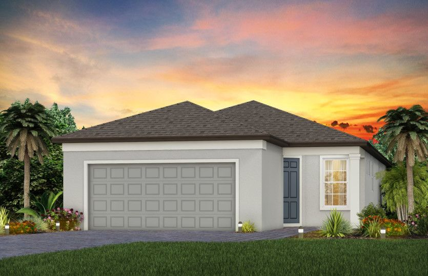 Exterior featured in the Contour By Del Webb in Tampa-St. Petersburg, FL
