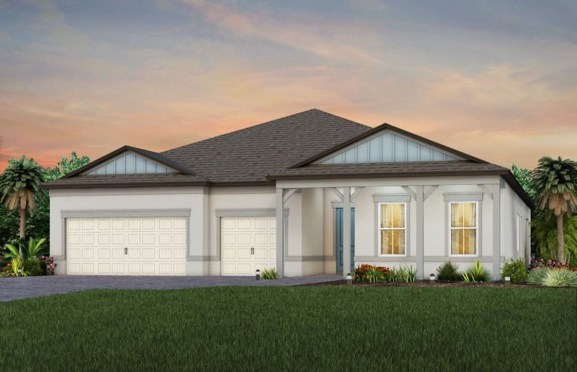 Exterior featured in the Renown By Del Webb in Tampa-St. Petersburg, FL
