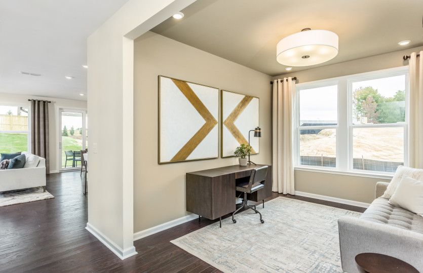 Living Area featured in the Prosperity By Del Webb in Raleigh-Durham-Chapel Hill, NC