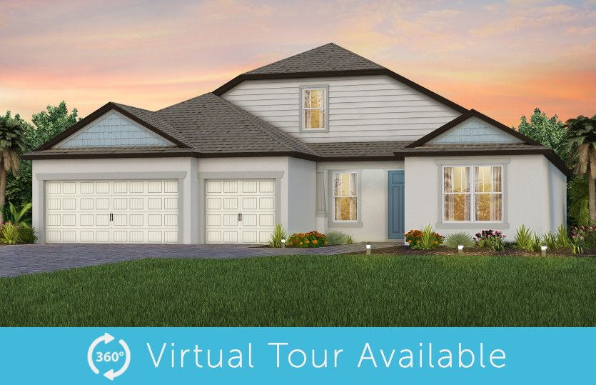 Exterior featured in the Stellar Grand By Del Webb in Tampa-St. Petersburg, FL