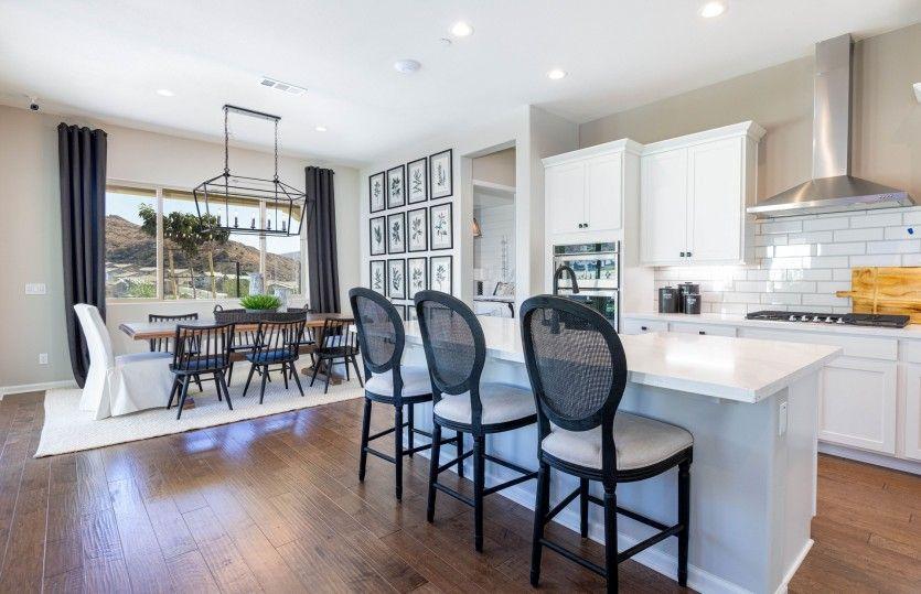 Kitchen featured in the Brownstone By Del Webb in Riverside-San Bernardino, CA